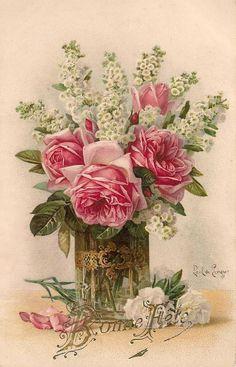 Éphémères Vintage, Vintage Labels, Vintage Ephemera, Vintage Paper, Vintage Postcards, Vintage Flowers, Vintage Prints, Vintage Floral, Victorian Flowers