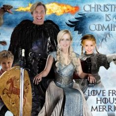Game of Thrones Christmas card