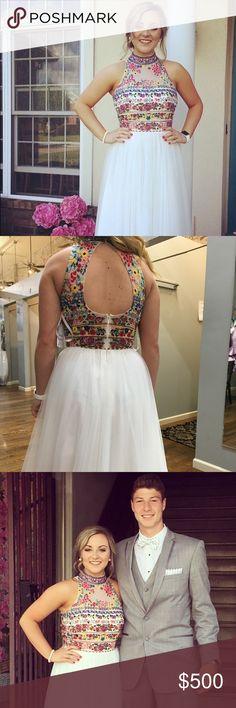 PROM DRESS Sherri Hill Prom Dress!!!! Very beautiful and comfortable! The PERFECT prom dress (: size 6 Sherri Hill Dresses Prom