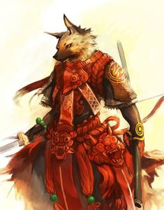 Gnoll War Queen, fantasy race and character inspiration Fantasy Races, Fantasy Warrior, Fantasy Rpg, Fantasy Character Design, Character Concept, Character Art, Dnd Characters, Fantasy Characters, Fantasy Creatures