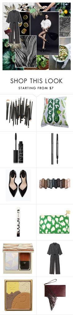"""""""Be more of what you want to be"""" by floralbeauteous ❤ liked on Polyvore featuring Nameless, GE, NARS Cosmetics, Burberry, Zara, Urban Decay, Lancôme, Kate Spade, Clé de Peau Beauté and Monki"""