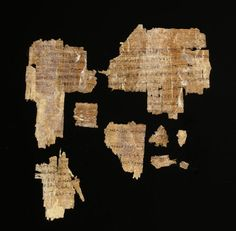 Buy online, view images and see past prices for 8 Egyptian Papyrus Fragments - Greek and Demotic Script. Invaluable is the world's largest marketplace for art, antiques, and collectibles. Papyrus, Religious Text, Greek Language, Rosetta Stone, Alexander The Great, Artemis, Custom Framing, Egyptian, Roman