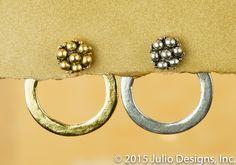 ER201 #juliodesigns #handmadejewelry #vintage