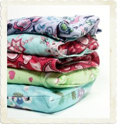 hot pack / cold pack. This tutorial suggests up cycling outgrown pajamas :-)