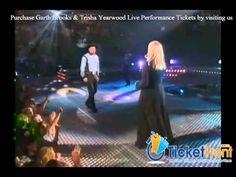 Garth Brooks & Trisha Yearwood Live Performing - YouTube Trisha Yearwood, Garth Brooks, Concert Tickets, Folk Music, Popular Music, Music Publishing, Country Music, Blues, Southern