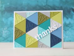 Buy Triangle Background Set Metal Cutting Dies Stencil for DIY Scrapbooking Photo Album Paper Card Decorative Craft Diecuts at Wish - Shopping Made Fun Scrapbooking Usa, Scrapbook Blog, Scrapbook Paper Crafts, Scrapbook Albums, Paper Cards, Diy Cards, Men's Cards, Greeting Cards, Handmade Cards