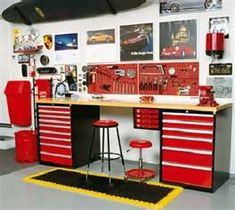 A garage workbench is an essential tool in any house workshop. A workbench will permit you to total projects quickly and with higher precision. Diy Garage Storage, Garage Organization, Storage Ideas, Organized Garage, Organization Ideas, Garage Shelving, Shop Storage, Diy Garage Work Bench, Shelving Ideas