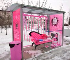 Barbie bus station