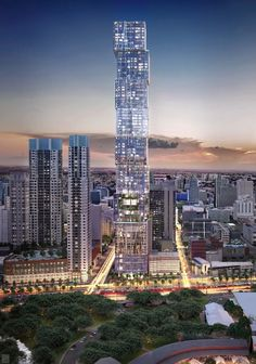 Miami's tallest planned tower unveils new renderings, design - Curbed Miamiclockmenumore-arrownoyes : 300 Biscayne looks a bit different