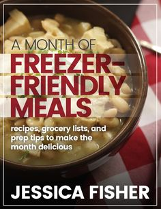 Do your future self a favor; fill the freezer with a few extra meals to please the family and buy you some time. Get a Month of Freezer-Friendly Meal Plans.