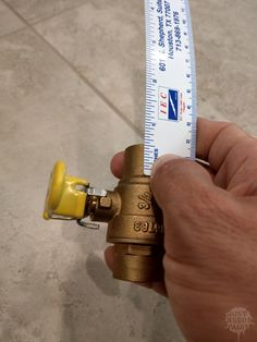 Build a Whole House Uponor Manifold: Start measuring out how everything is going to fit together. Water Plumbing, Pex Plumbing, Bathroom Plumbing, Water Pipes, Bathroom Fixtures, Bathroom Cabinets, Bathrooms, Houston, Plumbing Installation