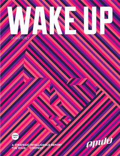 Wake Up: A Strategic Intel Report on Content  Branded content. Agencies are peddling it like snake oil, while media companies and ad-tech firms shill from the crowd, preying off brands' fear of missing out on the next marketing miracle. Somewhere on the periphery of this madness, actual audiences are starting to take notice of branded content, even consuming and sharing some of the tastier nuggets, making this a great time to step back and take stock of how to strategically develop, produce…
