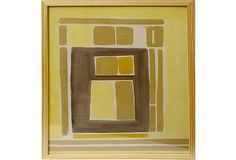 Midcentury Abstract Painting on OneKingsLane.com