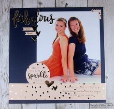 Kendra's Paper Creations - Simple Stories Posh Collection