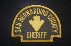 San Bernardino County Sheriff, California (Current Issue)