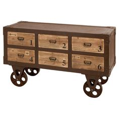 Gavin Cabinet Cart at Joss & Main