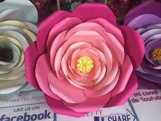 Rosa gigante em papel - Programa mulher.com - YouTube