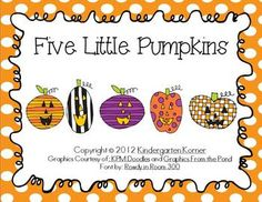 Five Little Pumpkins - Little Reader
