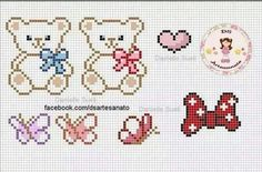 Thrilling Designing Your Own Cross Stitch Embroidery Patterns Ideas. Exhilarating Designing Your Own Cross Stitch Embroidery Patterns Ideas. Small Cross Stitch, Cross Stitch Heart, Beaded Cross Stitch, Cross Stitch Embroidery, Baby Cross Stitch Patterns, Hand Embroidery Patterns, Plastic Canvas Patterns, Cross Stitching, Crafts