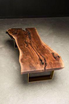 Мебель ручной работы. Столы из слэбов ценных пород на заказ.. BRUTAL-WOOD. Ярмарка Мастеров. Стол из массива, спил