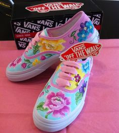 93d90156e92325 Call in and treat yourself to a pair of custom vans at Sherbie Lemon £75