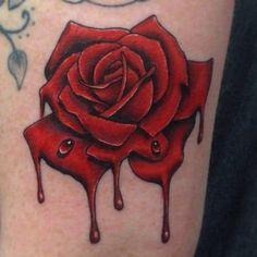 3d Rose Tattoo, Rose Thorn Tattoo, Rose Tattoo Black, Rose Tattoo Meaning, Rose Drawing Tattoo, Rose Tattoo Thigh, Rose Tattoos For Men, Tattoos With Meaning, Tattoo Drawings