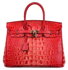 Ainifeel Women's Crocodile Embossed Office Handbag Top Handle Handbag (35cm, Red-gradient) Ainifeel http://www.amazon.com/dp/B013JG215S/ref=cm_sw_r_pi_dp_7i0zwb0P666HG