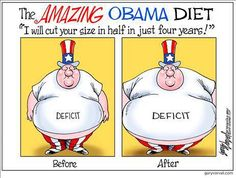 Repin if you think the federal government could afford to cut spending out of its diet!