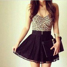 Black leoprint •••