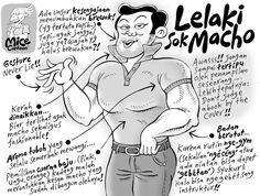 Mice Cartoon (Kompas, April 2012): Lelaki Sok Macho