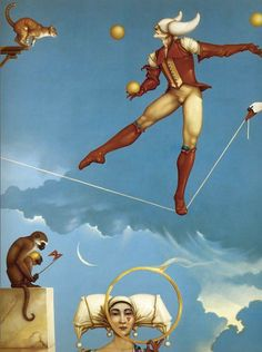 Michael Parkes. This used to hang in my bedroom years ago.