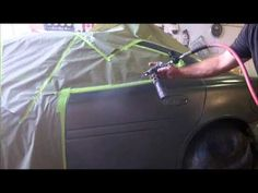 How to Spray and Blend Automotive Paint Car Spray Paint, Auto Paint, Auto Body Repair, Car Repair, Car Painting, Spray Painting, Car Fix, Car Hacks, Car Storage