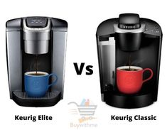 Keurig Elite vs Classic - Check which one we suggest & why? Coffee Brewer, Iced Coffee, Coffee Cups, Maker Labs, Making Iced Tea, Single Serve Coffee, Blended Coffee, Wood Cutting