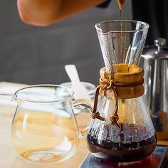 Loving the Chemex three cup for your daily brews in stock online! Shop Chemex @alternativebrewing Link in Bio Same Day Dispatch | by @_timjay