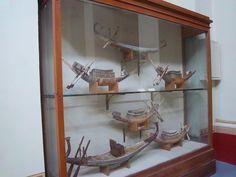 Maaquetas originales de  barcos de los tesoros de Tutankamon  #visita #museo_egipcio #cairo