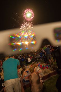 Fireworks Glasses! Turns a point of light into an array of rainbows - way fun with Light Up Toys & not just for 4th of July.