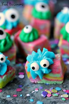 Easy Monster Fudge - Real Housemoms