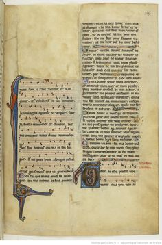 Chansons notées et jeux-partis ; [Mere au Sauveour] ; « Maistre WILLAUMES LI VINIERS » ; « LI PRINCE DE LE MOUREE » ; « LI CUENS D'ANGOU » ; « LI QUENS DE BAR » ; « LI DUX DE BRABANT » Date d'édition :  1201-1300  Français 844  Folio 145r