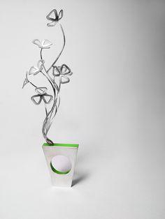 100 Flowers : Ring, Silver&Acrylic, OSTROWSKI-DESIGN 2013.