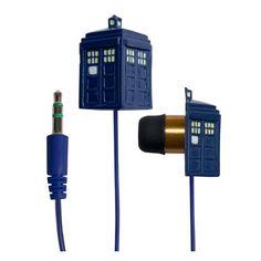 TARDIS Earbuds
