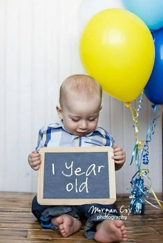 First Birthday Photography Idea