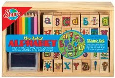 Shure Down on the Farm Wooden Stamp Set T.S
