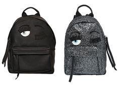 Chiara FERRAGNI Flirting Eye Backpack - Vegan Luxury Bags - Luxury Vegan Handbags