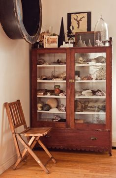 Wood factory mold, Cabinet of Curiosities / The Roving Home
