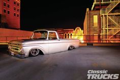 My latest magazine article. Thanks to Ryno Built for allowing me to shoot the truck and to Classic Trucks for putting us on the cover. 1961 Ford F-100 Unibody - Ryno's Ride - Classic Trucks Magazine