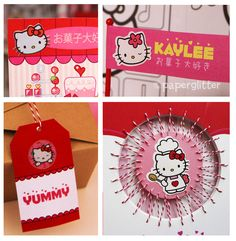 Hello Kitty Birthday Party: The Details