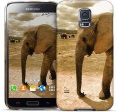 Afrika große Elephant / Afrika großer Elefant Samsung Cases & Skins von Bilder für die Wand   Nuvango