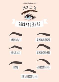 73 melhores imagens de Modelos de Sobrancelhas   Beauty makeup ... 1420e760bd