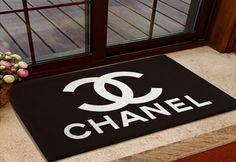 Chanel cc door mat bedroom rug bath mats 60cm*90cm