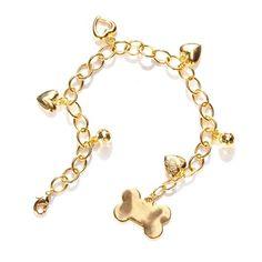 Colar Feminino Ouro Os Peludos MeuAmigoPet.com.br #petshop #cachorro #cão…